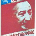 Corvalan ist Frei Poster